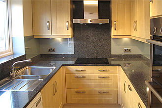 Bespoke kitchen design using quartz surfaces